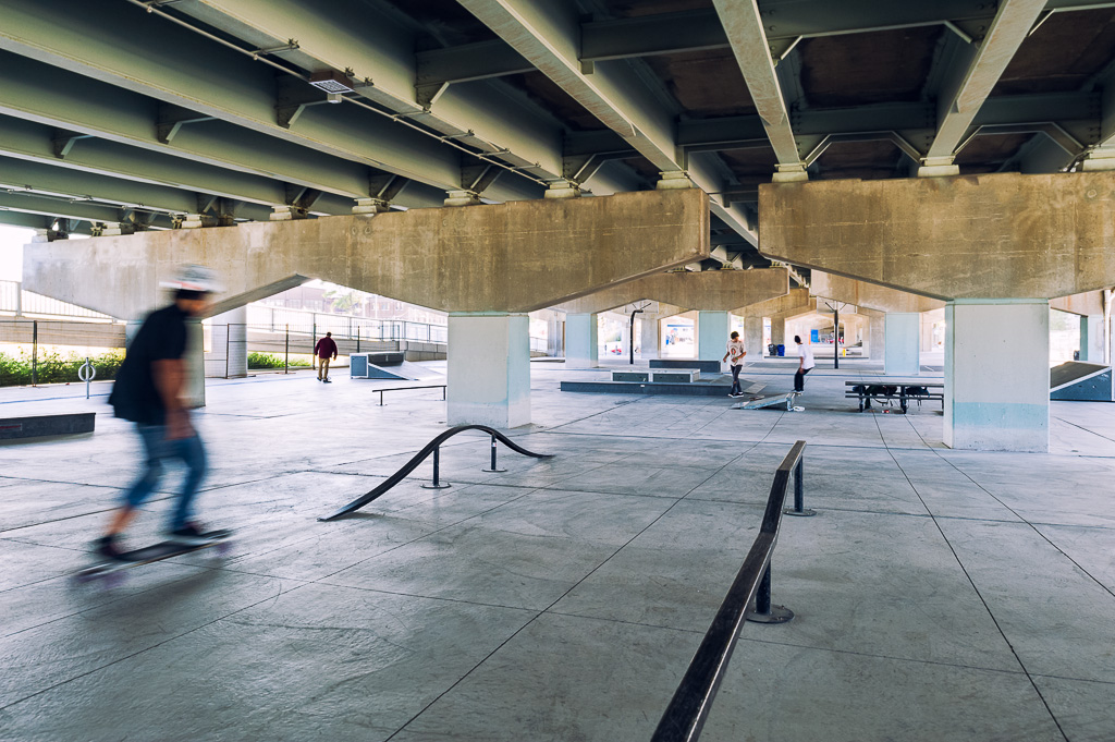 Underpass park pfs studio for Spaces and places