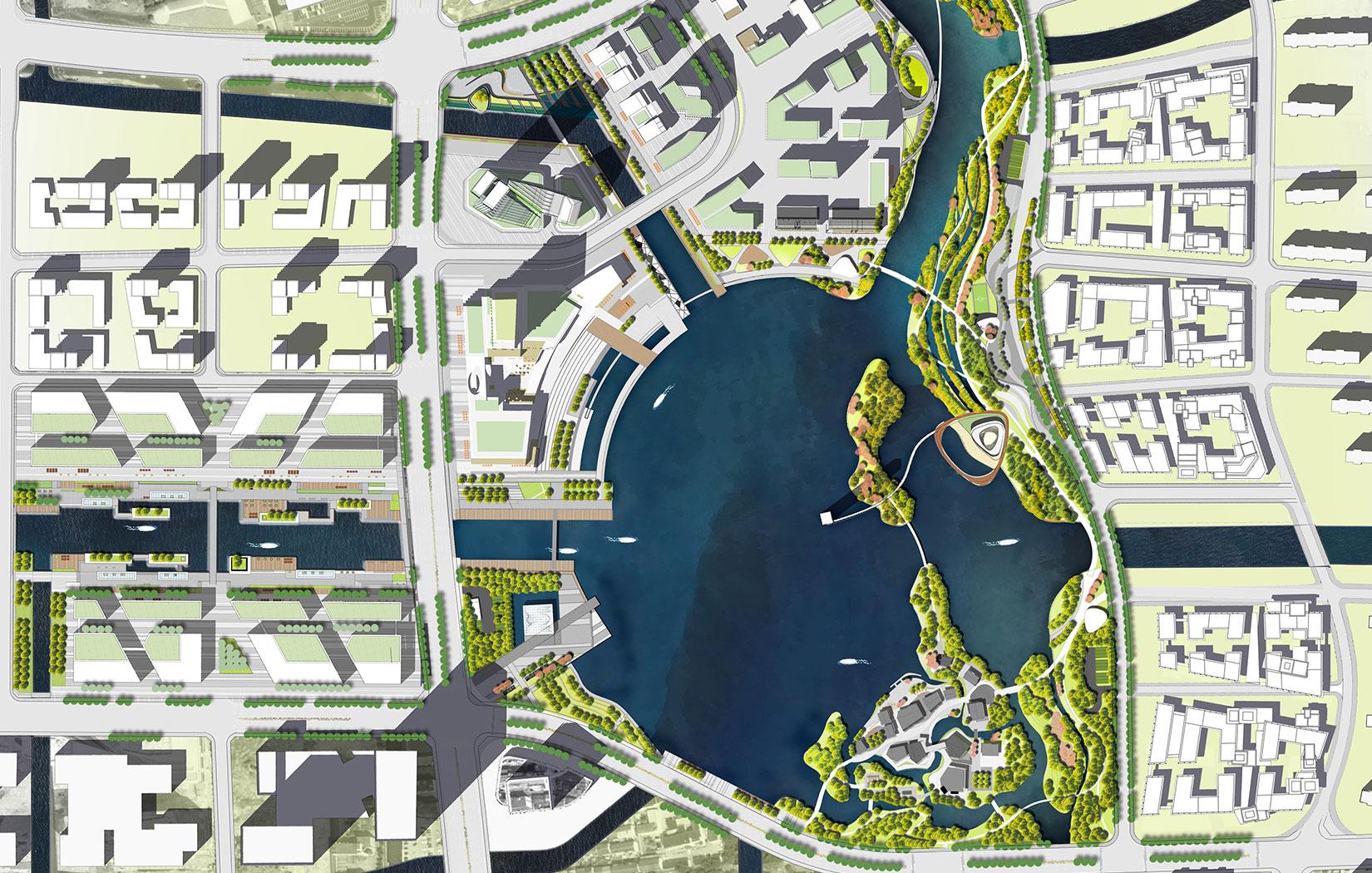 Ming Lake Urban Design Pfs Studio